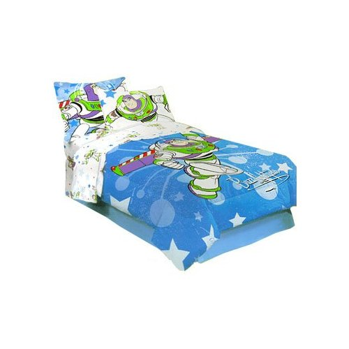 my family fun toy story buzz lightyear comforter bed set