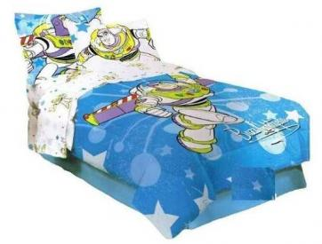 My Family Fun - Toy Story Buzz Lightyear Comforter Bed Set ...