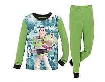 Toy Story Buzz Lightyear pajamas
