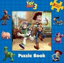 Toy Story Puzzle Book