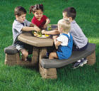 Naturally Playful Picnic Table