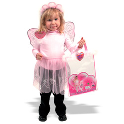 Pink Heart Fairy Dress Up