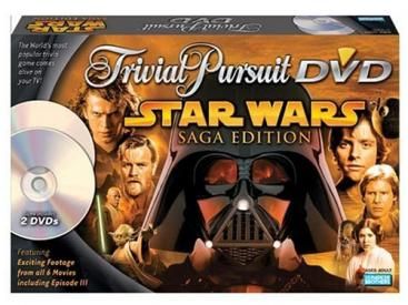 Trivial Pursuit DVD Game Star Wars