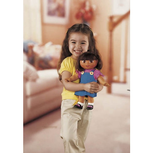 My Family Fun - Dora Knows Your Name Doll Personalized